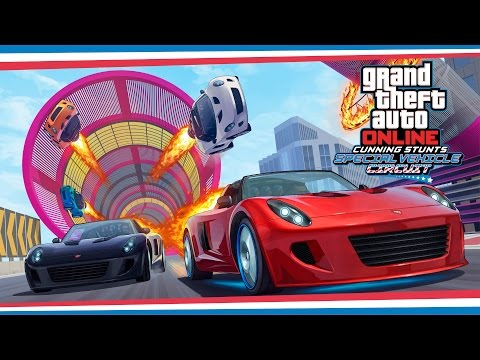 Grand Theft Auto Online Commercial for Grand Theft Auto Online: Cunning Stunts Special Vehicle Circuit (2017) (Television Commercial)