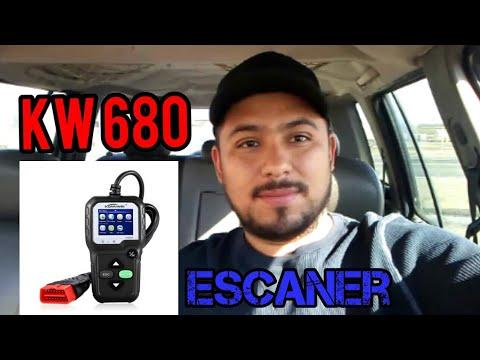 Escaner obd2  Kw680 (Funcionamiento y Diagnostico)