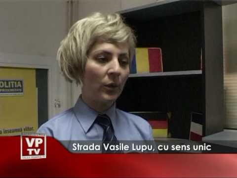 Strada Vasile Lupu, cu sens unic