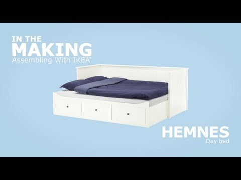 IKEA HEMNES Daybed Assembly Instructions