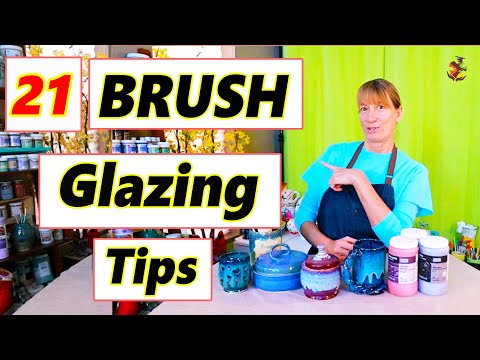 21 Tips for Brush Glazing - Pottery Glazing Techniques