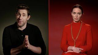 John Krasinski & Emily Blunt Answer A Quiet Place Part II Fan Questions