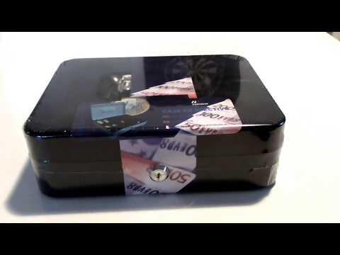 Schloss öffnen (Wie sicher sind Geldkassetten??)