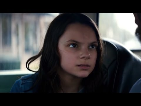 Laura Talks For The First Time - Logan Movie Clip (2017)