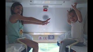 ВЛОГ: Едем в поезде, еда \ обзор купе , СПБ - АДЛЕР, Сочи
