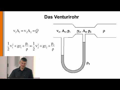 Hydraulik 13: Das Venturirohr