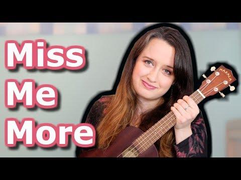 Kelsea Ballerini - Miss Me More (Ukulele Cover by Brianna April)