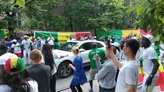 Фанаты Сенегала - нестандартные болельщики. Senegal fans in Russia