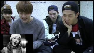 BTS' REACTION TO 4MINUTE CRAZY [FM]