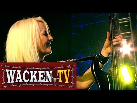 Girlschool - Race with the Devil - Live at Wacken Open Air 2016 online metal music video by GIRLSCHOOL