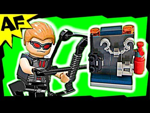 Vidéo LEGO Marvel Super Heroes 30165 : Hawkeye with equipment (Polybag)