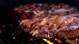 How To Make Garlic Marinated Steaks | Beef Recipes | Allrecipes.com