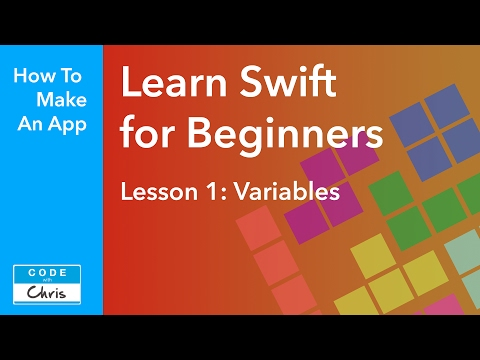 Learn Swift for Beginners – Ep 1 – Variables (Swift 3, Xcode 8, 2017)