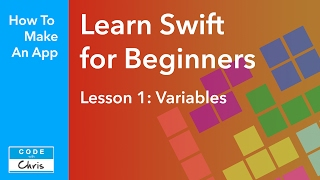 Learn Swift for Beginners Lesson 1 - Variables (Swift 5 compatible)