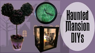Disney Haunted Mansion Decorations // DIY Disney Halloween Decorations // Party Theme