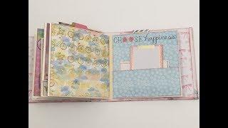 Flip Thru - Floral Mini Album