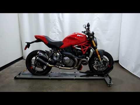 2018 Ducati Monster 1200 S in Eden Prairie, Minnesota - Video 1