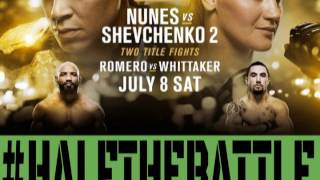 UFC 213: Whittaker vs Romero & Nunes vs Shevchenko Bets, Picks Predictions on Half The Battle