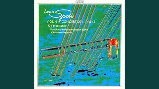 Violin Concerto No. 14 in A Minor, Op. 110, 'Sonst und jetzt'
