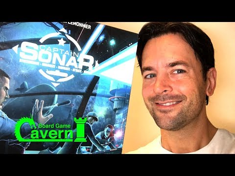 """How to play """"Captain Sonar"""" - Board Game Cavern"""
