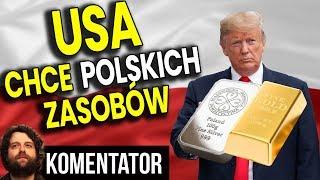 Oficjalnie: USA Chce Polskich Surowców – Analiza Komentator Pieniądze Trump PIS PL