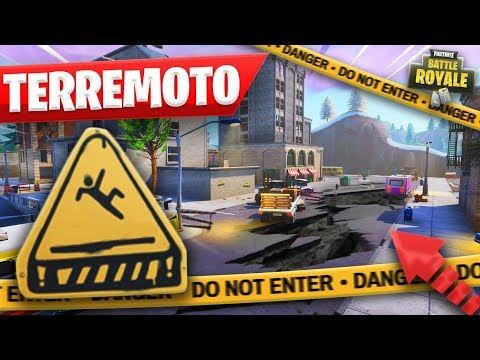 EL PRIMER TERREMOTO de FORTNITE - TEMPORADA 8