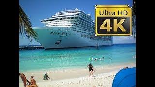 Full Movie 4k MSC Divina Tour Ultra HD Relaxing Sony 4k Demo