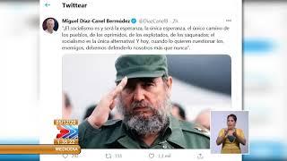 Intervención íntegra presidente Miguel Díaz Canel en Acto de Solidaridad con Cuba en Buenos Aires