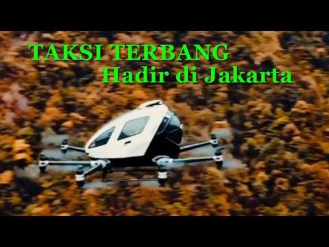 Taksi Terbang Ehang 216 Hadir di Jakarta