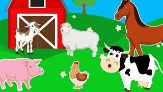 Домашние Животные для Детей. Все Серии Подряд. Интересные Факты. Развивающее Видео для Детей