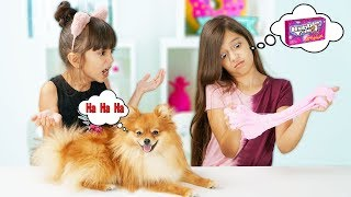 Dog Picks our Mystery Slime Challenge! Learn How To Make the Best DIY Funny Slime!
