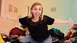 Clearing Out My Wardrobe! | More Hannah