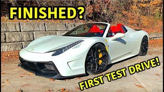 Rebuilding A Wrecked Ferrari 458 Spider Part 15