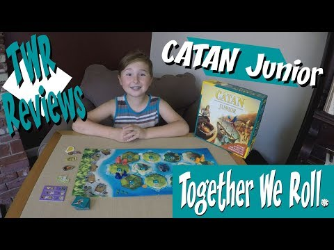 Together We Roll Reviews - Catan Junior