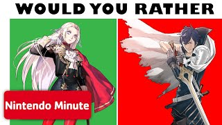 Would You Rather - 6 Super Hard Fire Emblem Choices 🔥
