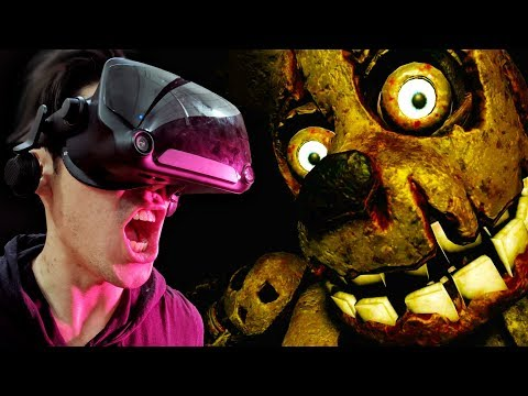 Five Nights At Freddy's VR Is Too Scary To Play Alone