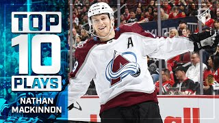 Top 10 Nathan MacKinnon Plays from 2019-20 | NHL by NHL
