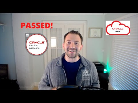 How I Passed The Oracle Cloud Infrastructure Foundations 2020 ...