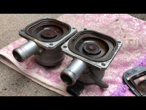 Der Motor auf pescho 607 2.2 Benzin