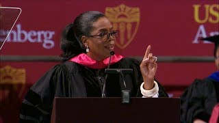 Oprah Winfrey 2018 Commencement Speech: USC Annenberg