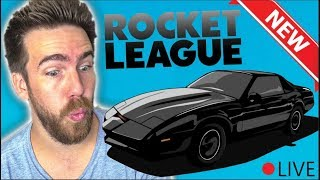 The New Rocket League Knight Rider Car Is HERE!