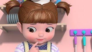 Мультики для детей - Консуни и друзья - Шеф Консуни - Готовим торт на день рождения мамы!