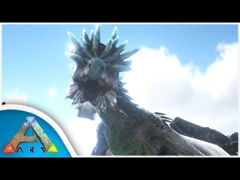 ARK: Survival Evolved - ICE WYVERN DRAGON FAIL!! (ARK Ragnarok