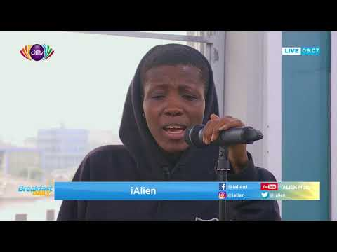 iAlien performs on Breakfast Daily