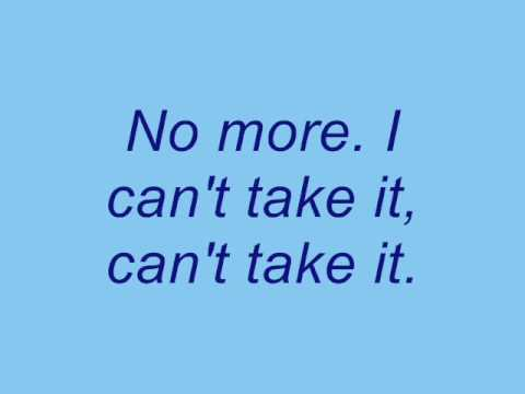 No More by Three Days Grace (Lyrics)