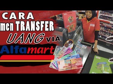 Cara transfer uang di alfamart