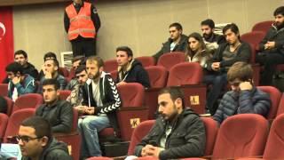 düzce üniversitesi rektör öğrenci buluşması 2015