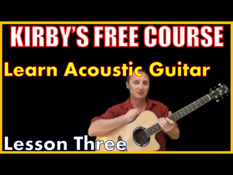 Free Guitar Course - Lesson 3