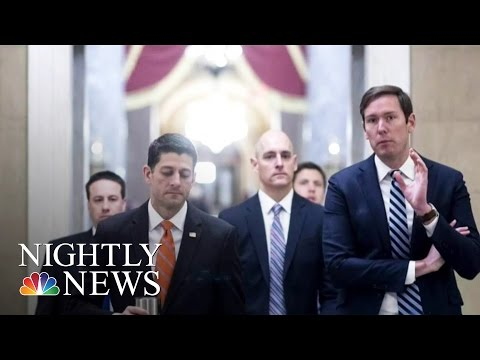 No Deal: GOP Leadership Forced To Postpone Thursday's Health Care Vote | NBC Nightly News