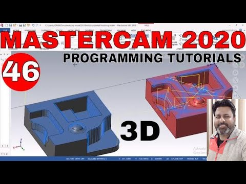 Mastercam 2020 Training tutorial   Mastercam Programming tutorials ...